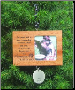 Pawprints Memorial Ornament