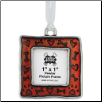 Pewter Photo Ornament - Bone/Heart/Paw
