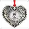 Always In My Heart - Pewter Photo Ornament