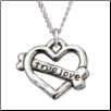 True Love - Sterling Silver Necklace