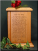 Rainbow Bridge Poem Pet Urn
