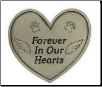 Pet Memorial Garden Stone - Forever In Our Hearts