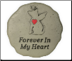 Dog Memorial Garden Stone - Forever In My Heart