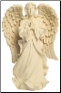 "18"" Serene Angel Pet Urn & Keepsake"
