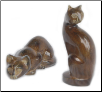 Crouching Kitty or Sitting Kitty Urns