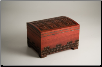 """A Polish Box Collection"" - Medium Chest Pet Urn (mahogany finish)"