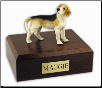 Dog Breed Hardwood Figurine Urns