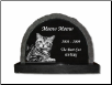 Photo Pet Distinctive Scallop Grave Marker