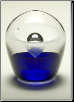Hand Blown Glass Keepsake Urn & Memorial