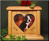 Heart Photo Pet Urns