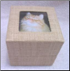 Hemp Biodegradable Cat Urn