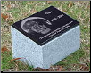 Photo Pet Monument Foot Marker - Pillow Base