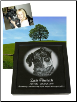 Photo Engraved Marble Pet Memorial Urn Frame