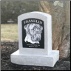 Personalized Garden Urn/Memorial in Two Sizes