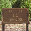 Slate Pet Memorial Plaque - Three Line
