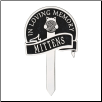 Cat with Yarn Personalized Memorial Yard Sign