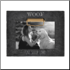 "Eat, Sleep, Love ""Woof"" Clip Photo Frame"