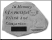 PERSONALIZED Garden Memorial - Cat