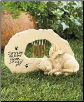 Memorial Wind Chime Stone for Cat