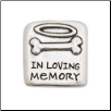 In Loving Memory - Pewter Memorial Pocket Reminder