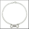 Bracelet Sterling Silver - Faithful Friend Bone