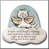 If Tears Could Build a Stairway Ceramic Magnet for Cat Lover