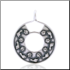 Circle of Life Pendant - Sterling Silver Dog Lover Jewelry