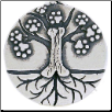 Tree of Life Pendant - Sterling Silver Dog Lover Jewelry