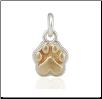 Mini Speak to the Paw Pendant - Sterling Silver Pet MemorialJewelry