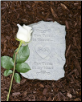 Pawprints in Heaven Memorial Stone or Plaque