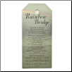 Rainbow Bridge Wall Plaque