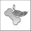 Heaven Isn't So Far Away Pendant - Sterling Silver Pet Memorial Jewelry