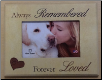 Always Remembered Wooden Photo Frame