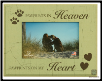 Paw Prints in Heaven Photo Frame