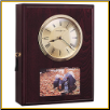 Eternity Wall Clock Photo Pet Urn