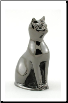 Felina - Bronze Mineature Pet Keepsake Urn