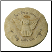 Dog Angel Garden Memorial Stone or Plaque