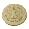 Cat Angel Garden Memorial Stone or Plaque