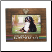 Rainbow Bridge Pet Memorial Photo Frame