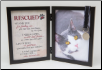 Rescued Cat Memorial Frame