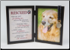 Rescued Dog Memorial Frame