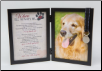 Where I'll Always Be Dog Memorial Frame
