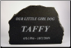 Custom Engraved - Etched Granite
