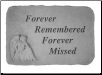 Angel Memorial Stones - Forever Remembered, Forever Missed