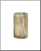 Cylinder Medium Green Onyx Marble Pet Urn