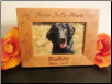 Personalized Photo Frame with Paw Prints