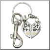 Best Friend - Pewter Keychain