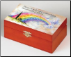 Rainbow Bridge Memory Box / Pet Urn