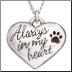 Always in My Heart - Sterling Silver Necklace