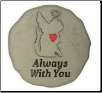 Cat Memorial Garden Stone - Forever In My Heart